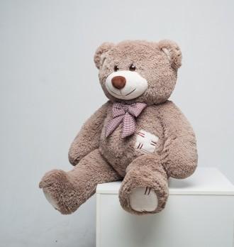 Плюшевый мишка медведь c латками мягкая игрушка 100 см ДВА цвета. Днепр. фото 1