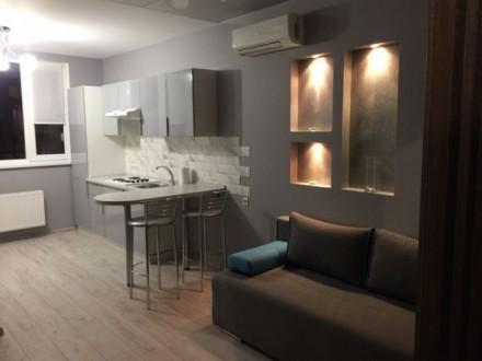Сдаётся новая квартира в Радужном. ЕВРОРЕМОНТ. Укомплектована.. Одесса. фото 1
