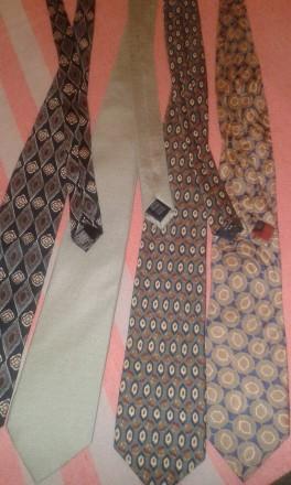 Фирменные номерные галстуки (оригинал) Италия. Marks & Spencer. Отличное состоян. Днепр, Днепропетровская область. фото 2