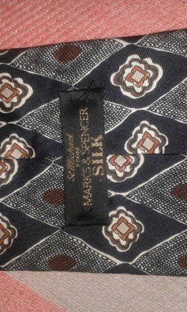 Фирменные номерные галстуки (оригинал) Италия. Marks & Spencer. Отличное состоян. Днепр, Днепропетровская область. фото 6