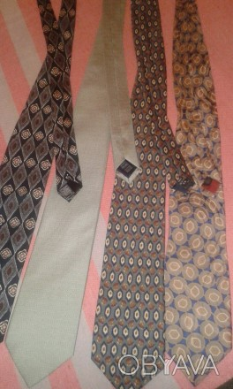 Фирменные номерные галстуки (оригинал) Италия. Marks & Spencer. Отличное состоян. Днепр, Днепропетровская область. фото 1