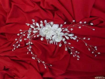 Свадебные, вечерние украшения для волос. Веночки, заколки, шпильки.. Измаил. фото 1