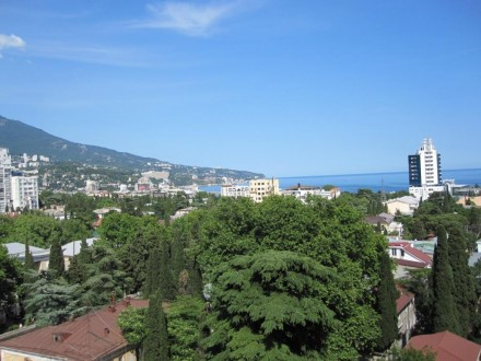 Ялта, Центр, 3-к квартира, 10-й этаж, вид на море, 500м до моря. Историческая и . Ялта, Ялта, Крым. фото 12