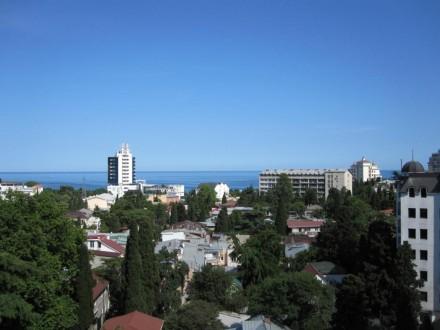 Ялта, Центр, 3-к квартира, 10-й этаж, вид на море, 500м до моря. Историческая и . Ялта, Ялта, Крым. фото 13