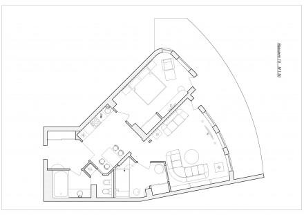 Ялта, Центр, 3-к квартира, 10-й этаж, вид на море, 500м до моря. Историческая и . Ялта, Ялта, Крым. фото 4
