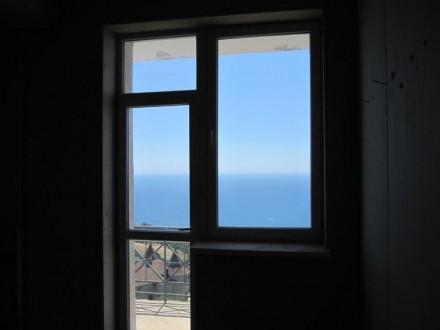 -10мин до Ялты, пгт Восход. Коттедж 403 м2 с видом на море и Ялту, 4этажа+ подва. Восход, Крым. фото 12
