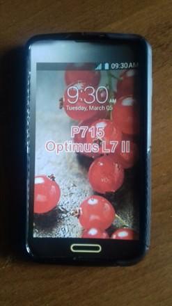 чехол LG Optimus L7 Р-715 Цвет белый, черный.. Киев, Киевская область. фото 3