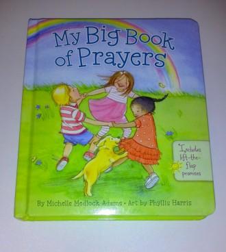 Картонная книга молитв детям на английском Michelle Medlock Adams My big Book. Киев. фото 1