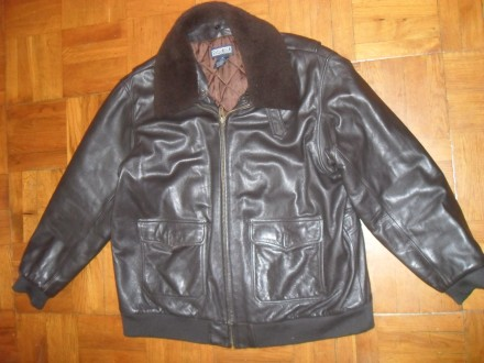 Куртка кожаная мужская Lnds ' End , размер XXL ( 56-58 ). Киев. фото 1