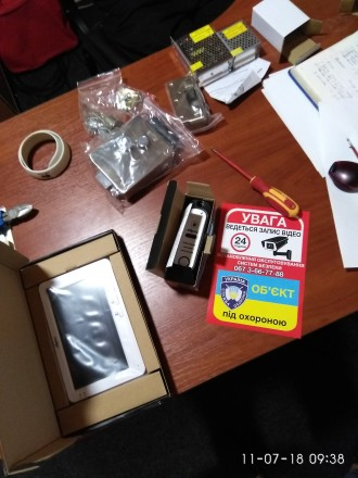 Ремонт систем безопасности (видеонаблюдение, видеодомофоны).. Белая Церковь. фото 1