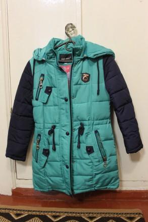 Зимняя курточка для девочки. Глухів. фото 1
