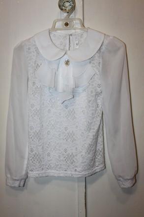 Нарядная школьная блузка. Глухов. фото 1