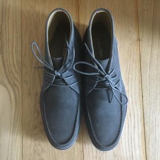 Продам мужские ботинки Calvin Klein Kenley Calf Suede grey  100% оригинал При. Чернигов, Черниговская область. фото 4