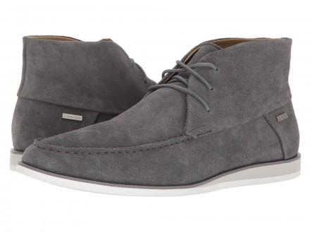 Продам мужские ботинки Calvin Klein Kenley Calf Suede grey  100% оригинал При. Чернигов, Черниговская область. фото 2