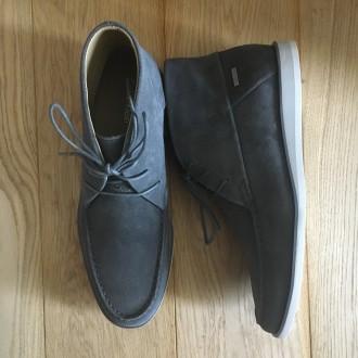 Продам мужские ботинки Calvin Klein Kenley Calf Suede grey  100% оригинал При. Чернигов, Черниговская область. фото 5