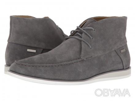 Продам мужские ботинки Calvin Klein Kenley Calf Suede grey  100% оригинал При. Чернигов, Черниговская область. фото 1