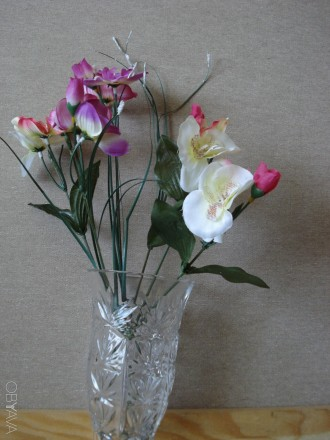 Искусственные цветы (букеты и отдельные цветочки). Киев. фото 1
