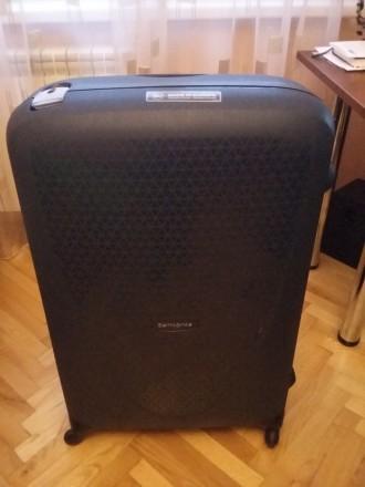 Новый брендовый чемодан тёмно синего цвета SAMSONITE, модель Termo Young, произв. Киев, Киевская область. фото 6