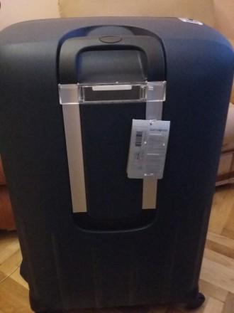 Новый брендовый чемодан тёмно синего цвета SAMSONITE, модель Termo Young, произв. Киев, Киевская область. фото 4