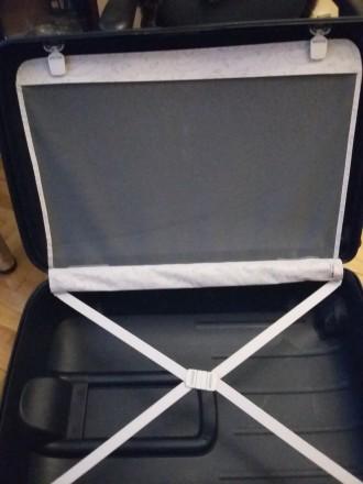Новый брендовый чемодан тёмно синего цвета SAMSONITE, модель Termo Young, произв. Киев, Киевская область. фото 7