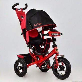 Велосипед трехколесный Best Trike с родительской ручкой 6588В, 5 цвето. Кременчук. фото 1