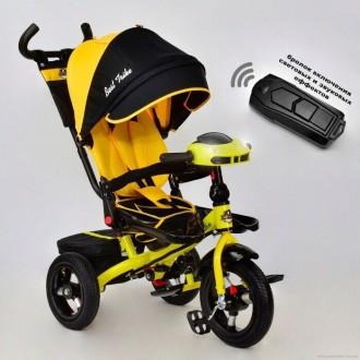 Детский трёхколёсный велосипед Best Trike 6588, 5700 поворотное сидени. Кременчуг. фото 1
