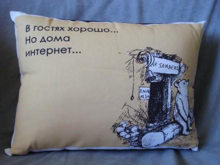 Декоративная подушка Presentville. Киев. фото 1