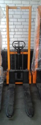 Штабелер гидравлический NIULI, 1 тонна. 1,6 м. Новый. В наличии. Днепр. фото 1