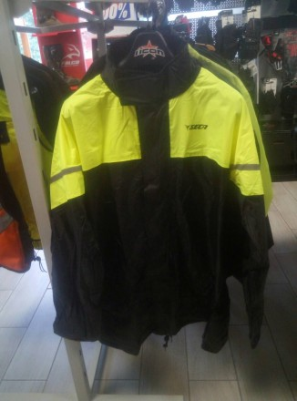 Мотодождевик SECA RAIN куртка флуо. Киев. фото 1