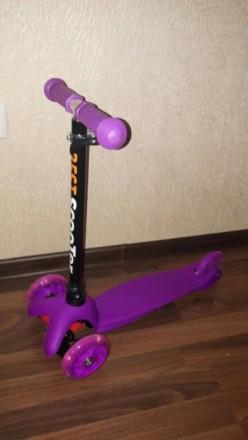 Самокат Мини Бест Скутер Scooter, силиконовые колеса.. Кременчуг. фото 1