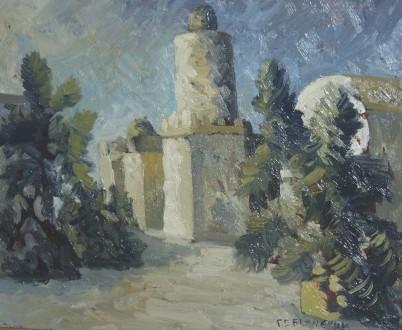 Продам картину Белая твердыня   40х50. Одесса. фото 1