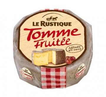 Сыр Toм в пепле со вкусом фруктов  280гр. 51% Le Rustique. Киев. фото 1