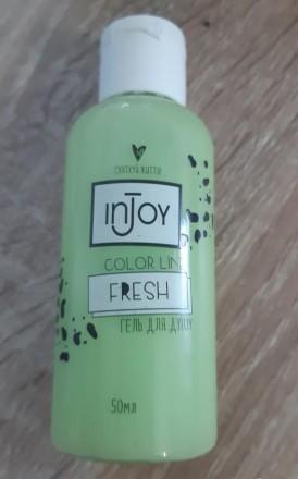 Гель для душа Injoy Fresh 50 мл. Чернигов. фото 1