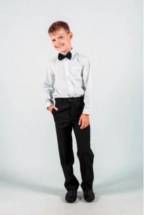 FAMENKI.  Брюки для хлопчика чорні , сірі, темно- сірі. Полтава. фото 1