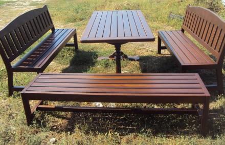 Столы из натурального дерева в наличии и под заказ.. Алешки (Цюрупинск). фото 1