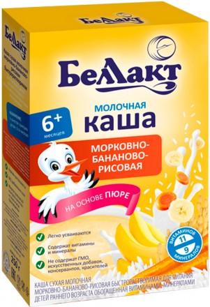 Каша молочная на основе пюре Беллакт Беларусь. Чернигов. фото 1