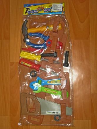 Детский набор инструментов на поясе. Хмельницкий. фото 1