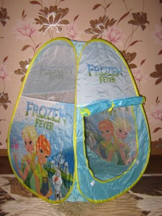 Холодное сердце, Frozen - палатка детская игровая. Хмельницкий. фото 1
