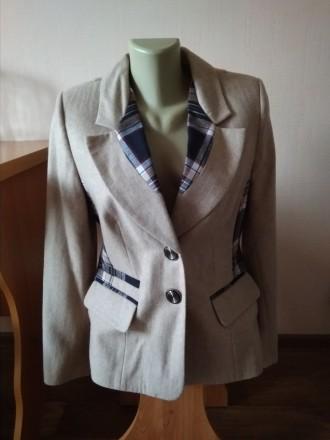 Продам шерстяной пиджак. Чернигов. фото 1