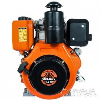 Дизельный двигатель на 10л.с. от латвийской торговой марки Vitals - надёжный и о. Одесса, Одесская область. фото 1