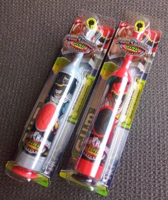 Детская электрическая зубная щётка Gum Power Rangers, мягкая. Харьков. фото 1