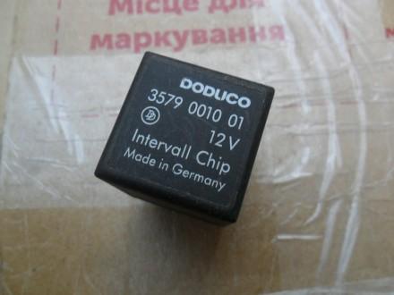 Реле DODUCO 3579 0010 01 12V Intervall Chip оригинал  Фольксваген, Ауди, Се. Винница, Винницкая область. фото 4