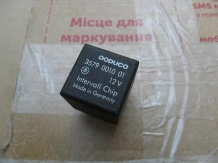 Реле DODUCO 3579 0010 01 12V Intervall Chip оригинал  Фольксваген, Ауди, Се. Винница, Винницкая область. фото 2