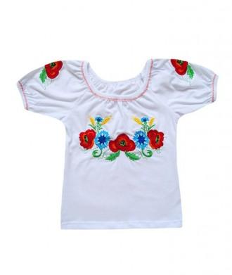 Вышиванка детская девочке от 3 до 10 лет. Кривий Ріг. фото 1