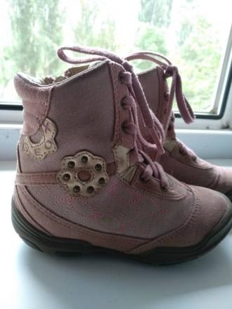 Ботинки демисезонные Geox на девочку. Київ. фото 1