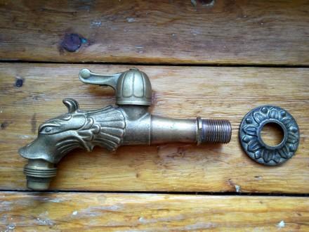 Садовий кран Remer 202 LE (Італія), бронза. Киев. фото 1