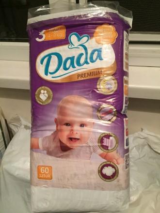 Продам детские подгузники Dada Premium 2,3. Харьков. фото 1