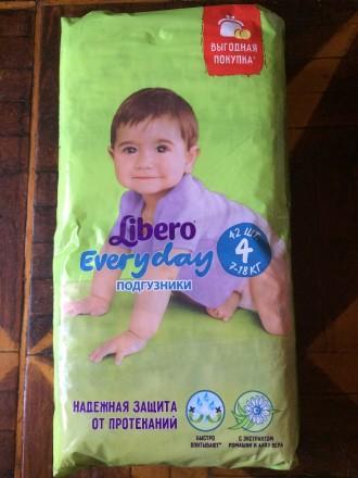 Продам детские подгузники Libero Every day 4. Харьков. фото 1