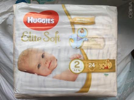 Продам детские подгузники Huggies Elite Soft 2. Харьков. фото 1