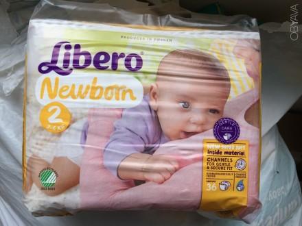 Продам детские подгузники Libero Newborn 2. Харьков. фото 1